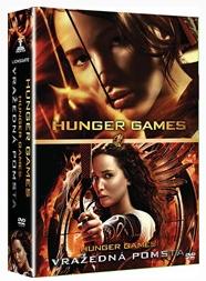 2 DVD Hunger Games + Hunger Games: Vražedná pomsta