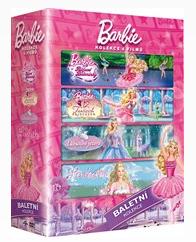 Barbie Baletka kolekce 4 DVD - 13x19