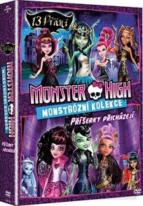 Kolekce Monster High: 13 přání, Příšerky přicházejí 2 DVD