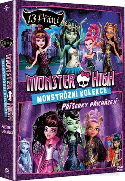 Kolekce Monster High: 13 přání, Příšerky přicházejí 2 DVD - 13×19