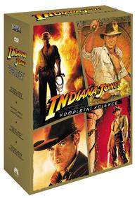 Indiana Jones kolekce 4 DVD - Steven Spielberg - 13×19