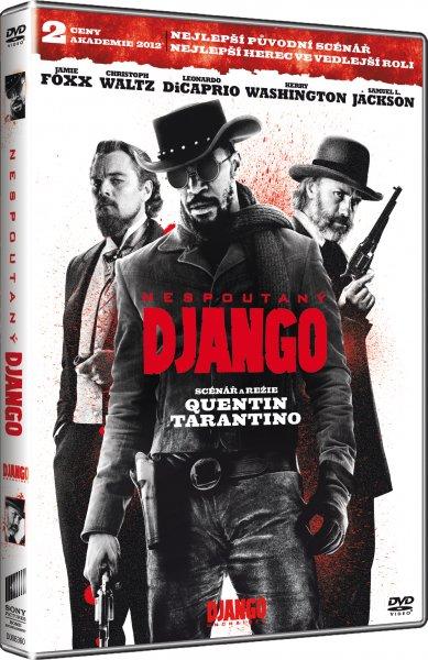 DVD Nespoutaný Django - neuveden - 13x19
