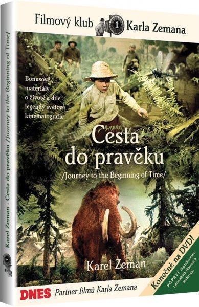 DVD Cesta do pravěku - Karel Zeman - 13x19
