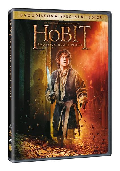Hobit: Šmakova dračí poušť 2 DVD - 13x19