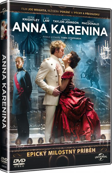 DVD Anna Karenina - Joe Wright - 13x19