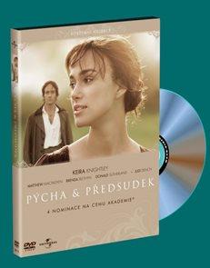 DVD Pýcha a předsudek
