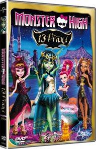 DVD Monster High: 13 přání