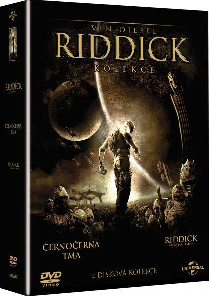 Riddick kolekce 2 DVD - 13x19