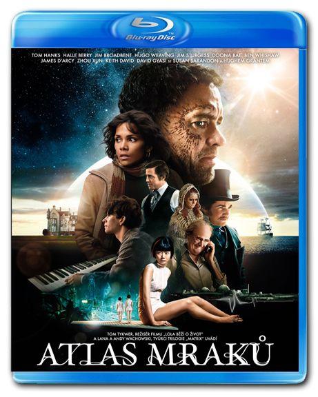Atlas mraků Blu-ray - Tom Tykwer, Lana Wachowski - 13x19