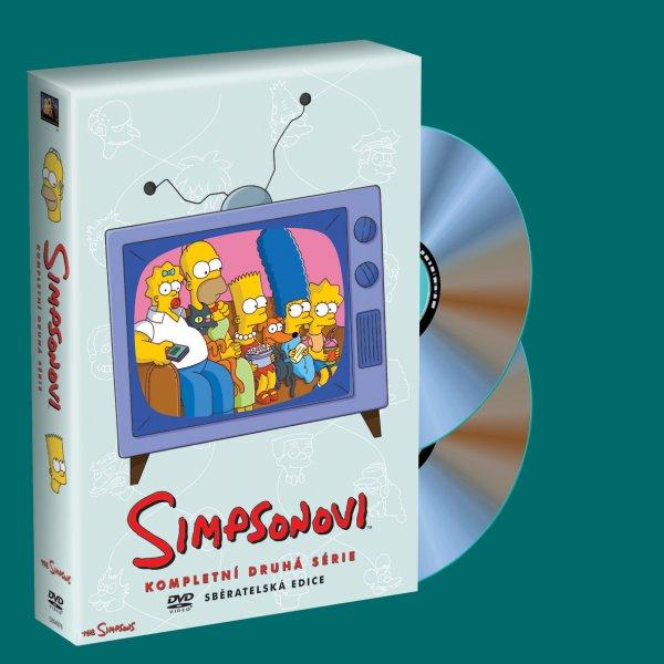 Simpsonovi 2. sezóna 4 DVD - 13x19