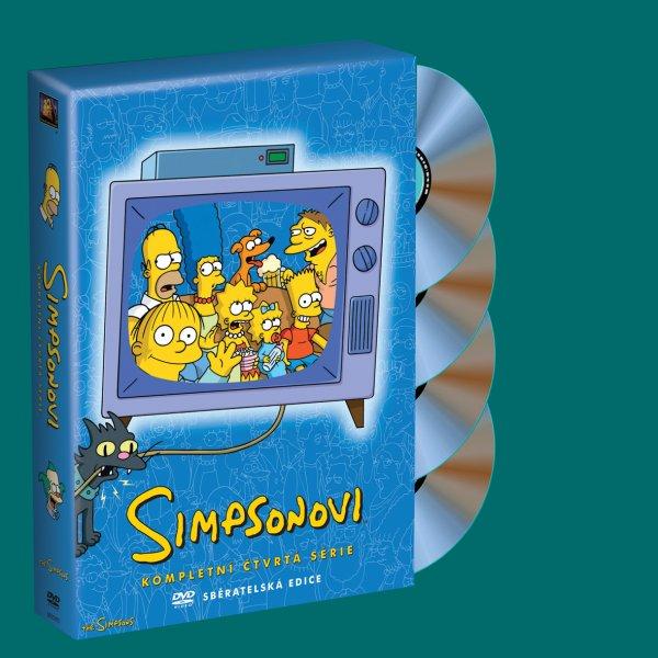 Simpsonovi 4. sezóna 4 DVD - 13x19