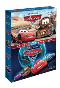Auta kolekce 1.+2. Blu-ray