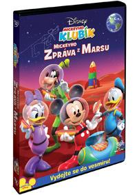 DVD Mickeyho klubík: Mickeyho zpráva z Marsu - Walt Disney - 13x19