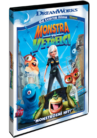 DVD Monstra vs. Vetřelci