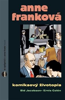 Anne Franková - komiks - Sid Jacobson, Ernie Colón - 15x23