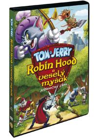 DVD Tom a Jerry: Robin Hood a veselý myšák - 13x19