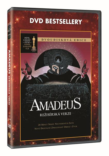 DVD Amadeus - Miloš Forman - 13x19