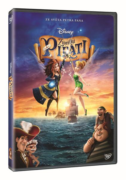 DVD Zvonilka a piráti - Walt Disney - 13x19