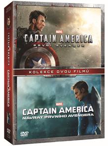 Captain America kolekce 1.-2. 2 DVD