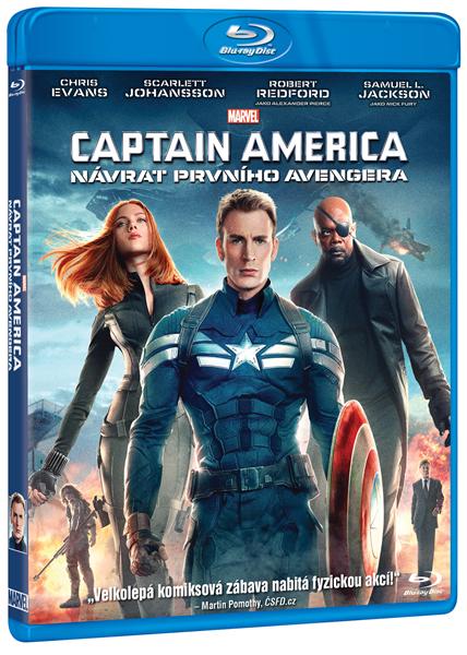 Captain America: Návrat prvního Avengera Blu-ray - Anthony Russo, Joe Russo - 13x19