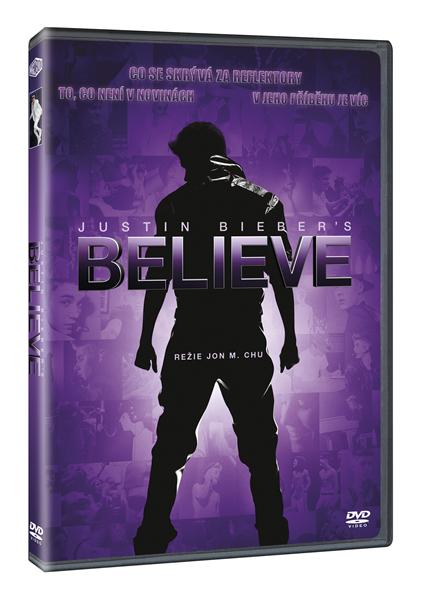 DVD Justin Biebers Believe - Jon M. Chu - 13x19