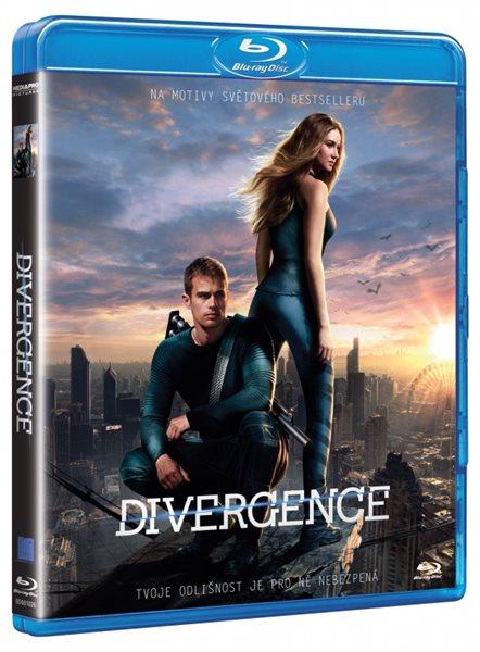 Divergence Blu-ray - Neil Burger - 13x19
