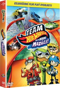 DVD Team Hot Wheels: Kde se berou mazáci!