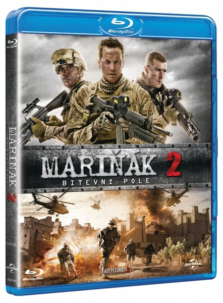 Mariňák 2: Bitevní pole Blu-ray - Don Michael Paul - 13x19