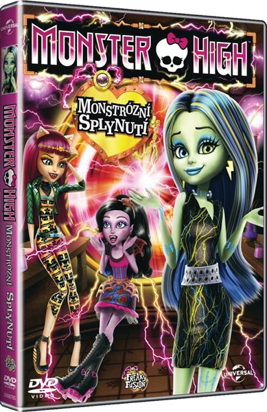 DVD Monster High: Monstrózní splynutí - 13x19