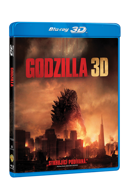 Godzilla 2 Blu-ray 2D + 3D - Gareth Edwards - 13x19