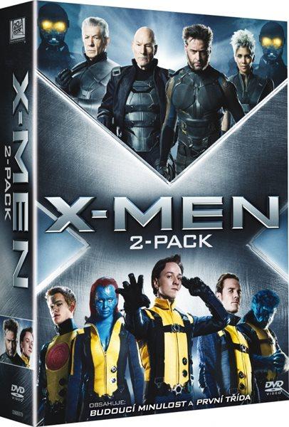 2 DVD X-Men: První třída/X-Men: Budoucí minulost - Bryan Singer, Matthew Vaughn - 13x19