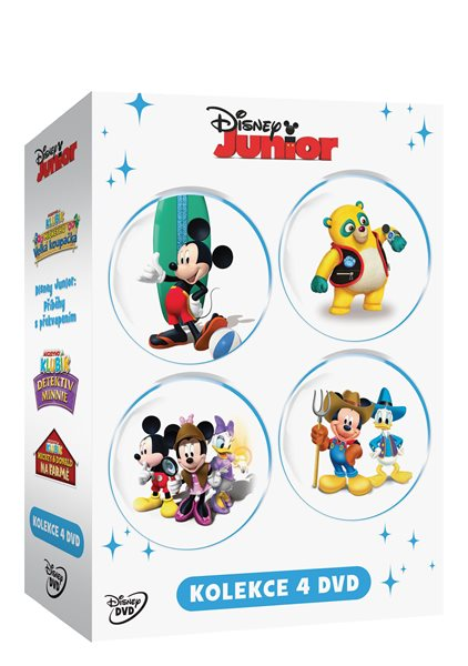 Disney Junior kolekce 4 DVD - 13×19