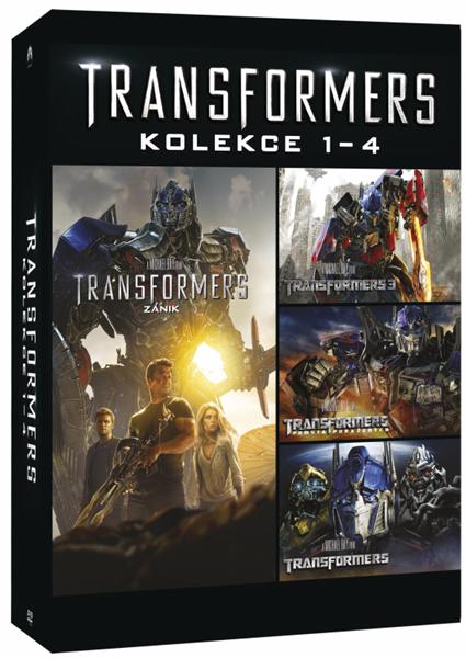 Transformers kolekce 1-4 - 13x19