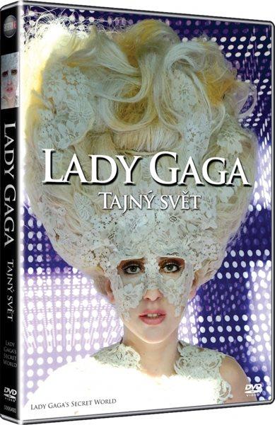 DVD Lady Gaga: Tajný svět - 13x19