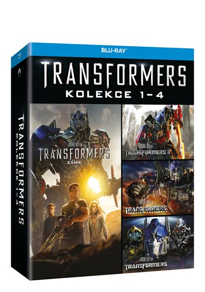 Transformers kolekce 1 - 4 (4 Blu-ray) - Michael Bay - 13x19