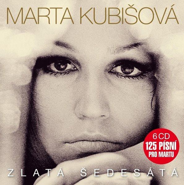 Kubišová Marta - Zlatá šedesátá 6 CD - Kubišová Marta - 13x14