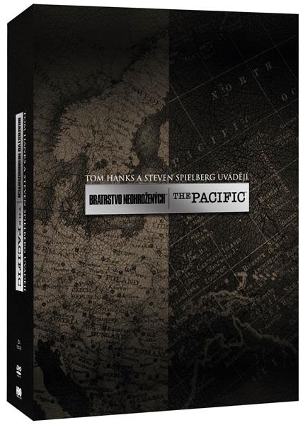 Bratrstvo neohrožených + The Pacific kolekce 11 DVD - 14x19