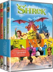 Shrek 1-3 kolekce 3 DVD