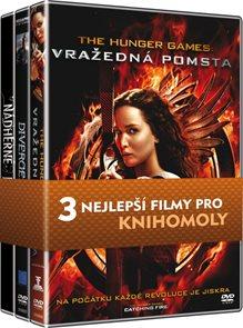 Kolekce pro knihomoly (Hunger Games: Vražedná pomsta, Divergence, Nádherné bytosti)