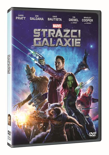 DVD Strážci Galaxie - James Gunn - 13x19