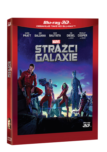 Strážci Galaxie 2 Blu-ray (3D+2D) - James Gunn - 13x19