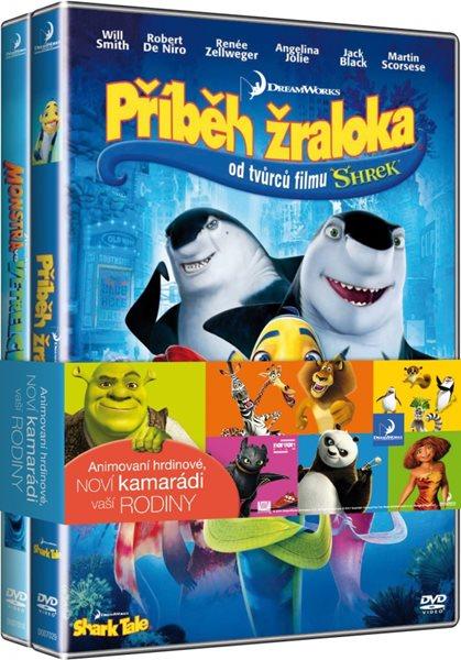 Příběh žraloka / Monstra vs. Vetřelci kolekce 2 DVD - 13x19