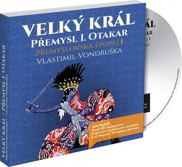 CD Velký král Přemysl Otakar I - Vlastimil Vondruška - 13x14