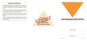 Průkazka pacienta - antikoagulační léčba