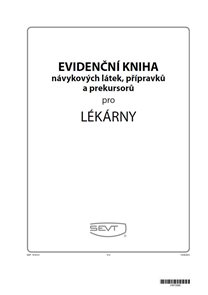 Evidenční kniha návykových látek pro lékárny