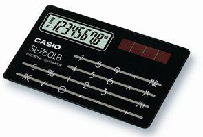 Kalkulačka Casio SL-760LB černá