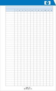 ADK Roční rozvrh A6 (5 listů)