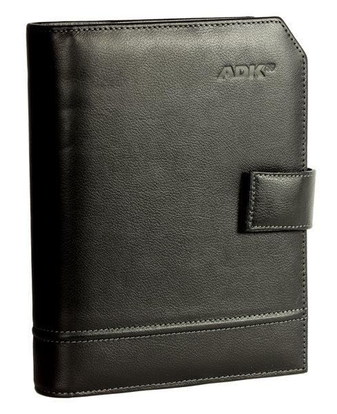 ADK Diář Classic A5 2021 - černý - A5, černá kůže