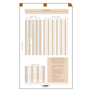 ADK Věčný kalendář A5