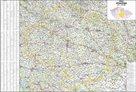 Kraj - Vysočina -ZES- 1:145 000 - nástěnná mapa